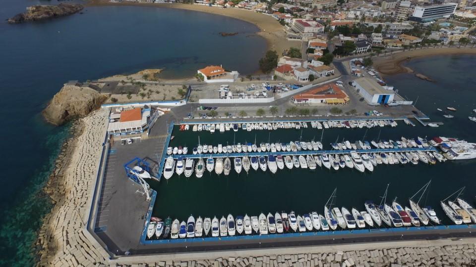 imagen barcos Club Regatas Mazarron